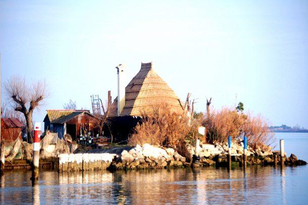 laguna; Лагуна Градо, casoni; casone; laguna; Grado; Lagune von Grado; lagoon; ; Friuli Venezia Giulia;
