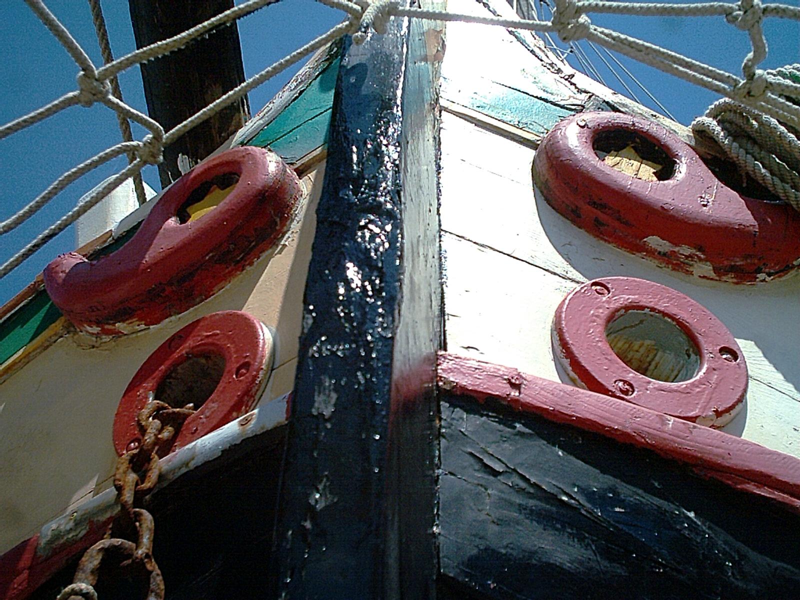 laguna; occhio di prua; Lagune; Lagune von Grado; Grado; Adria See; traditionellen Boot der nördlichen Adria; Friuli Venezia Giulia;